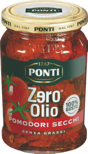 Paradižnik Ponti suhi v mešanici arom.začimb, 300g