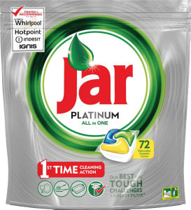 Kapsule Jar Platinum, rumeni, 72/1