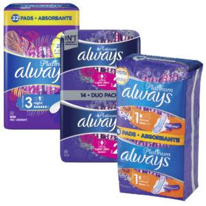 Higienski vložki Always ultra, Platinum, norm.+, 16/1