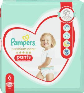Pampers Premium hlačne plenice, S6 15+, 31/1