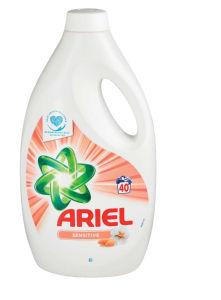 Pralni prašek Ariel Sensitive, 40pranj, 2,2l