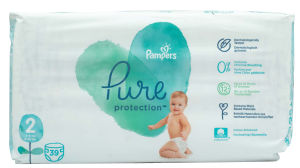 Pampers Pure plenice, S2 VP, 4-8kg, 39/1