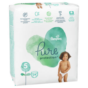 Pampers Pure plenice, S5 VP, 11 kg+, 24/1