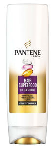 Pantene Hair Superfood, šampon, balzam