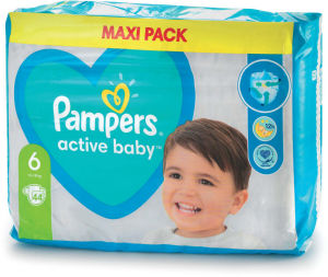 Plenice Pampers, extra large S6, 13-18kg, 42/1