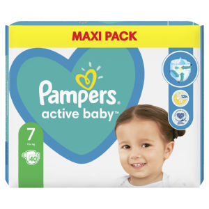 Pampers Maxi pack, plenice, S7, 15 kg+, 40/1