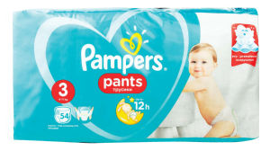 Plenice pampers hlačne maxi S3, 54/1