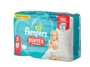 Planice Pampers hlačne maxi, S5, 42/1