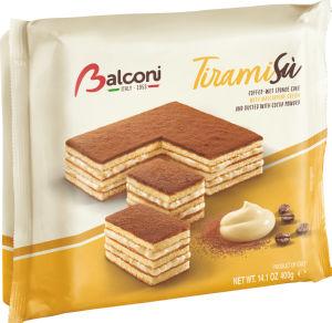 Torta Balconi, tiramisu, 400 g