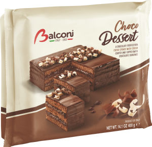 Torta Balconi, čokolada, 400g