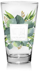 Garnitura Eucaliptus, kozarec za sok, 310 ml, 3/1