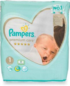 Pampers Premium, Newborn, 78/1, 2-5kg