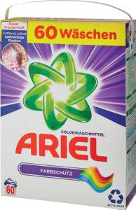 Ariel color prah, 60pranj, 3,9kg