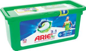 Pralni prašek Ariel, kapsule, Plus active deo fresh, 25/1