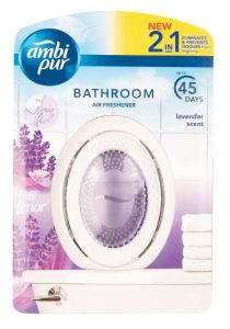 Osvež.Ambi pur, Bathroom lavender&lenor, 45g