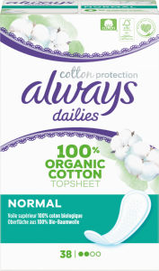 Ščitniki Always, Normal cotton protection, 32/1