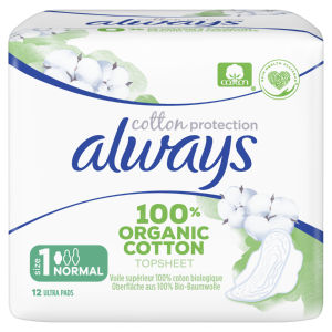 Always vložki, Normal cotton protection, 12/1
