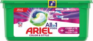 Pralni prašek Ariel, kapsule Plus Fiberprotection, 24/1
