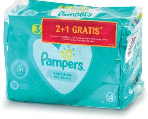 Robčki Pampers, Sensitive, 3×52