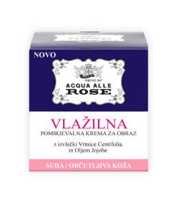 Krema Acqua alle rose za občutljivo kožo, 50ml