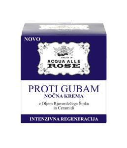 Krema Acqua alle rose proti gubam, nočna, 50ml