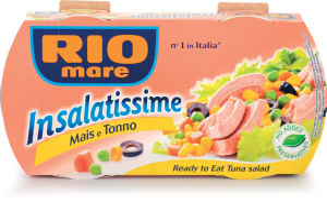 Tunina Insalatissime Rio Mare, koruza, 2 x 160 g
