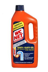 Čistilo WC Net, energy za odtoke, 1l