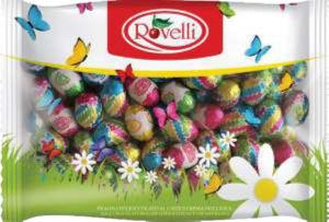 Čokoladna jajčka Ovetti, lešnikova kr.,500g