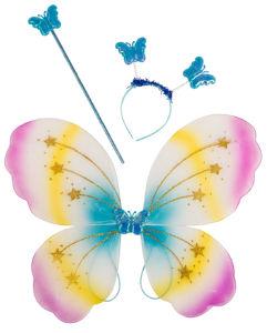 Set metulj, krila+obroč+palica