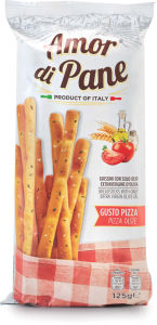 Grisini pizza, 125g