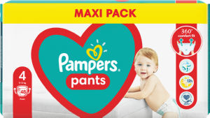Plenice Pampers maxi, S4, 48/1