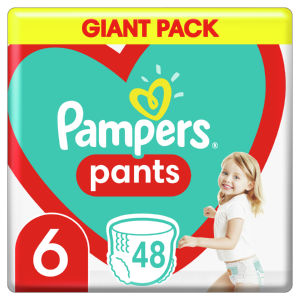 Plenice Pampers ABD, giant, S6, 48/1