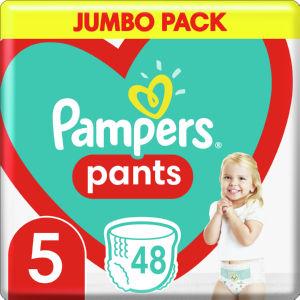 Plenice Pampers jumbopack, S5, 48/1