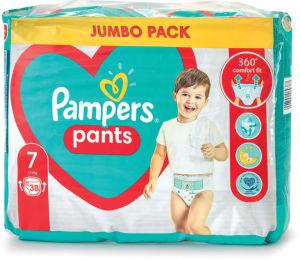 Plenice Pampers jumbopack S7, 38/1