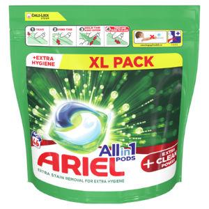 Pralni prašek Ariel kapsule, Extra Clean 46 pranj