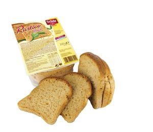 Kruh, temni, rustico, brez glutena, 225 g