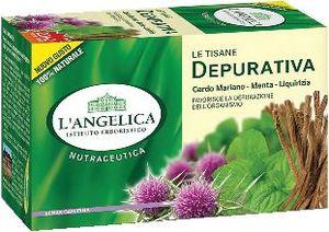 Čaj  L'Angelica, zeliščni, za prečiščevanje, 44g