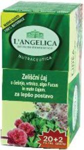 Čaj L'Angelica, zeliščni, za lepšo postavo, 37,4g