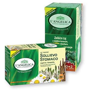 Čaj L'Angelica, zeliščni, 38,5g