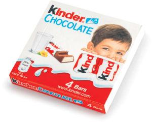 Čokolada mlečna Kinder, 50g
