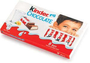 Čokolada mlečna Kinder, 100g