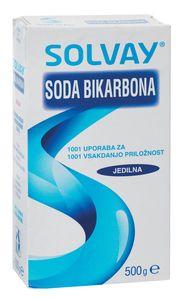 Soda bikarbona Solvay, 500g