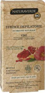 Depil.trakovi Bio Naturaverde, Viso z oljem g.jab.&kam., 20/1