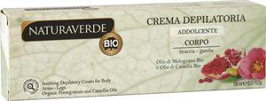 Krema depil.Bio Naturaverde za telo z oljem g.jab&kam., 150ml