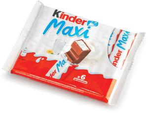 Čokolada mlečna Kinder, maxi pack, 126g