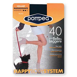 Nogavice hl.,Pompea, 40Den črna, vel.3-M