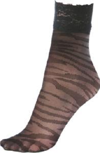 Nogavičke Laila, žen., črne