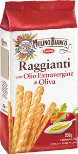 Grisini Mulino Bianco, z oljčnim oljem, 230g