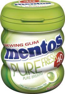 Žvečilni gumi Mentos, pure fresh lime, 60 g