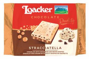 Čokolada Loacker stracciatella, 50 g